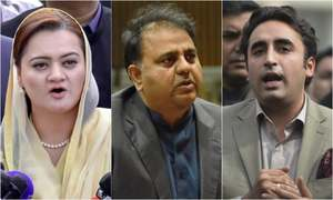 Gloating and allegations aplenty as PTI, opposition trade barbs over AJK election results