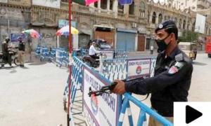 کراچی میں شام 6 بجے کے بعد غیر ضروری باہر نکلنے پر مکمل پابندی