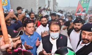شہزاد اکبر کی شکایت پر پی ٹی آئی رکن پنجاب اسمبلی نذیر چوہان گرفتار