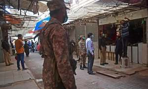 Karachi's positivity rate surges to all-time high
