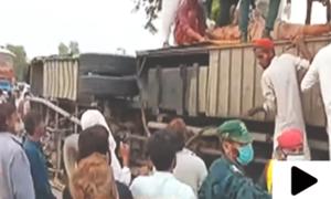 کوئٹہ سے راولپنڈی جانے والی بس کو لیہ میں حادثہ