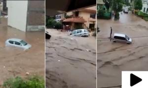 اسلام آباد میں بارشوں سے سیلابی صورتحال