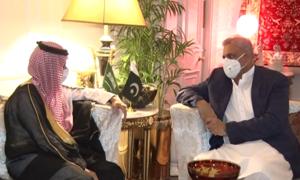 Saudi FM assures Pakistan of 'unflinching support', appreciates peace efforts in region: ISPR