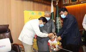 7-day polio campaign aiming to vaccinate 7.4m children to begin in Sindh from Aug 2