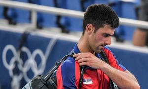 Novak Djokovic's temper flares up as he leaves Tokyo empty-handed