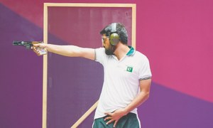 Bashir sixth, Khalil 16th after first round of 25m rapid fire