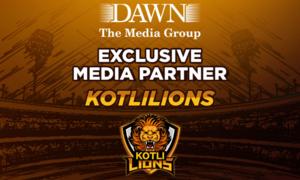 Kotli Lions announce The Dawn Media Group as exclusive media partner for Kashmir Premier League