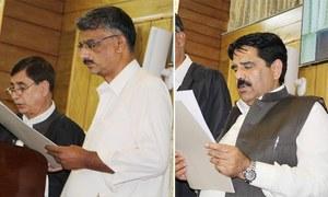 آزاد کشمیر اسمبلی میں چوہدری انوار الحق اسپیکر، ریاض احمد ڈپٹی اسپیکر منتخب