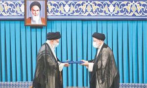 ایران: ابراہیم رئیسی نے صدر کے عہدے کا حلف اٹھا لیا