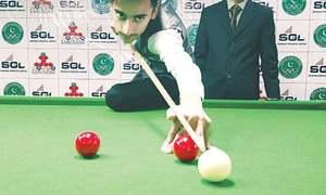 احسن نے حمزہ کو شکست دے کر قومی انڈر-17 اسنوکر چمپیئن شپ جیت لی