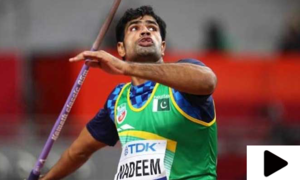 پاکستان کے اولمپک ہیرو ارشد ندیم کا خصوصی انٹرویو