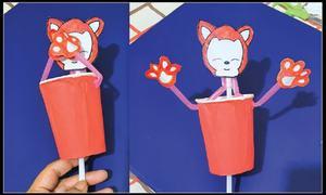 Wonder Craft: Pop-up  kitty cup