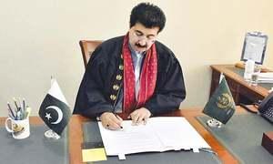 ایرانی صدر نے سرحد کے ساتھ مزید 6 تجارتی راہداریاں کھولنے کا فیصلہ کیا ہے، چیئرمین سینیٹ