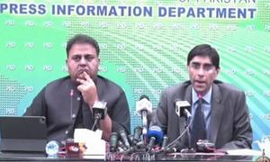 Afghan, Indian social media accounts being used to malign Pakistan: NSA Yusuf