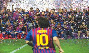 FOOTBALL: A MESSI EXIT