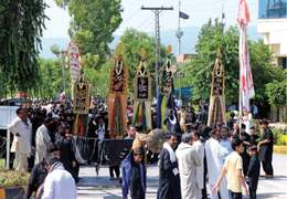 Muharram 8 processions taken out from three areas in capital