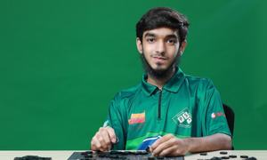 Pakistan's scrabble prodigy Syed Imaad Ali wins world youth title in Karachi