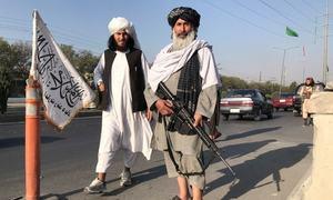 جب اندھیرے میں طالبان پر تیر چلتے ہیں