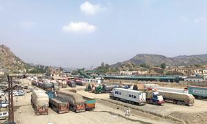 Exports to Afghanistan via Torkham decline