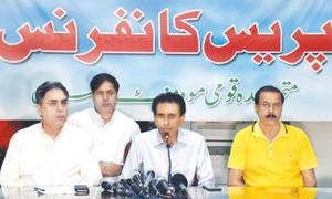 MQM-P demands LG polls in Sindh, asks PPP not to use delaying tactics