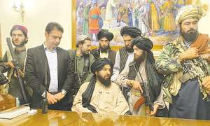 THE FALL AND RISE OF THE TALIBAN