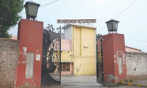Evernew Studios — a picture of film industry's decline