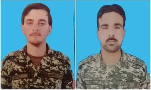 3 personnel, 2 civilians martyred in terrorist attacks in merged districts