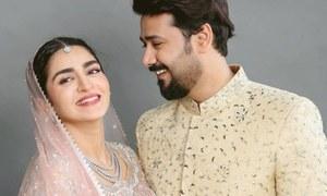 حاجرہ یامین اور علی عباس 'وٹہ سٹہ' کے موضوع پر ڈرامے میں اداکاری کیلئے تیار