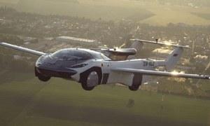 اڑنے والی گاڑی کی 2 شہروں کے درمیان کامیاب آزمائشی پرواز