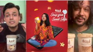 Hills & Vales and our favourite celebs are celebrating creativity with new campaign #SnapYourSweetSelfie