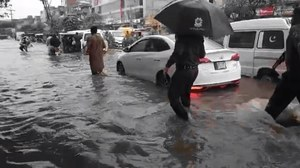 Three children killed in roof collapse as heavy rain lashes Lahore