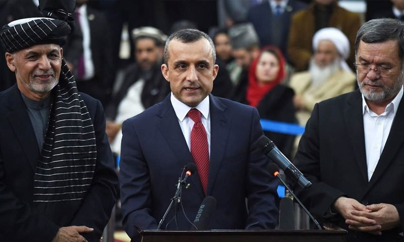 طالبان کا سابق نائب صدر امراللہ صالح کے گھر سے دولت برآمد کرنے کا دعویٰ