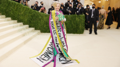 An 'equal rights for women' Met Gala outfit can't hide US politician Carolyn Maloney's biased feminism