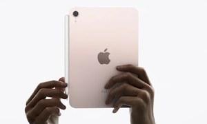 ایپل کے 2 نئے آئی پیڈ ٹیبلیٹس متعارف
