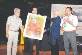 Masood A. Khan's achievement celebrated at Arts Council