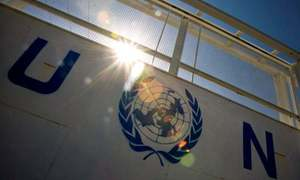 اقوام متحدہ کی ایلچی کی طالبان حکومت کے وزیر داخلہ سراج الدین حقانی سے ملاقات