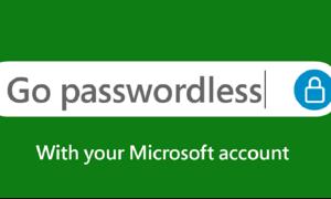مائیکرو سافٹ اکاؤنٹس کے لیے اب پاس ورڈ کی ضرورت نہیں رہی