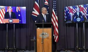 Australia to get nuclear subs in new US-British partnership