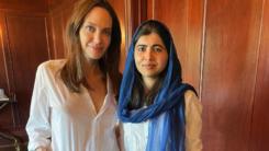 Malala Yousafzai praises Angelina Jolie for publishing book on children's rights