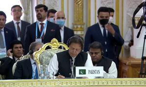 افغان طالبان کو اپنے وعدے پورے کرنے چاہئیں، وزیراعظم