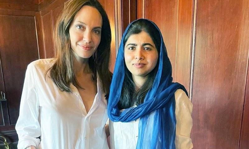 ملالہ یوسف زئی بچوں کے حقوق کی کتاب لکھنے پر انجلینا جولی کی معترف