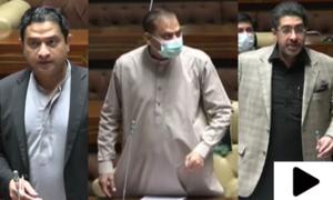 اراکین سندھ اسمبلی کےدرمیان تلخ جملوں کا تبادلہ