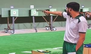 SHOOTING: PAKISTAN'S SHOOTING STAR