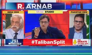 India's Goswami lampooned after claiming ISI agents are staying on 5th floor of two-storey Kabul hotel