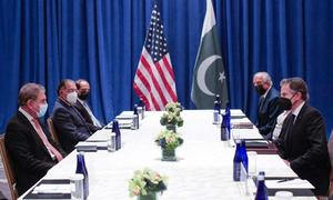Qureshi meets Blinken, urges engagement with Taliban