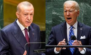 Erdogan says relations with Biden off to poor start