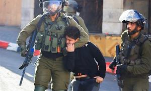 مغربی کنارے پر احتجاج کے دوران اسرائیلی فوج کی فائرنگ، فلسطینی شہری جاں بحق