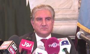 امریکا نے افغانستان کے معاملے میں پاکستان کی سنی ہوتی تو نتائج برعکس ہوتے، وزیر خارجہ