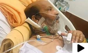 عمر شریف کی طبیعت خراب، امریکا روانگی 2 دن کے لیے مؤخر