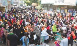 Annual ritual at Hyderabad's Kalhoro shrine draws crowds of women despite Covid-19 restrictions